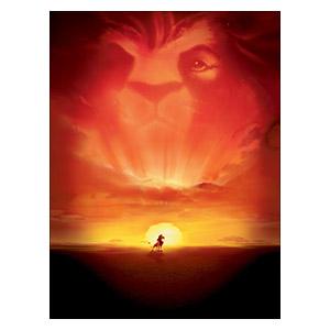 Lion King. Размер: 45 х 60 см